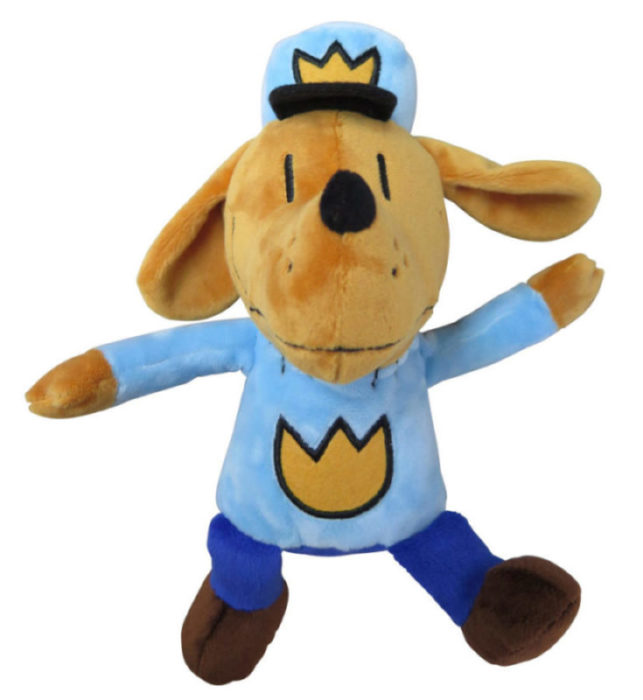 "Dog Man 9.5"" Plush Doll"