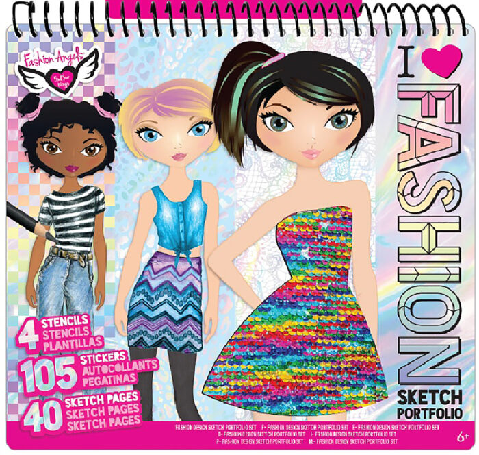 Fashion Design Magic Sequins Sketch Portfolio By Art And Craft Kit The Parent Store