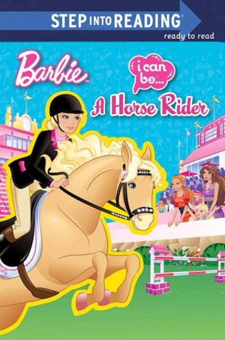 Scholastic Reader! Level 1-Barbie: I can Be a Horse Rider