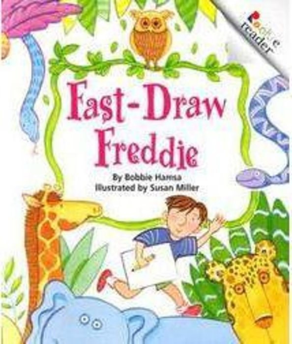 Rookie Reader-Level B: Fast Draw Freddie