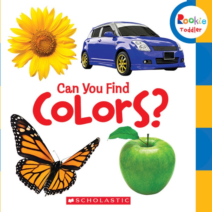 Rookie Toddler®-First Concepts: Can You Find Colors?