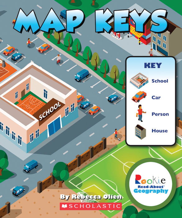 Rookie Read-About® Geography-Map Skills: Map Keys