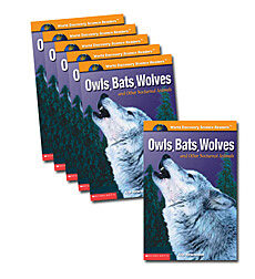 Guided Reading Set: Level M - Owls, Bats, Wolves and Other Nocturnal Animals