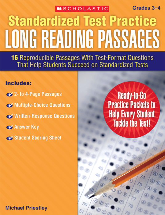 Long Reading Passages: Gr 3-4 by Michael Priestley ...