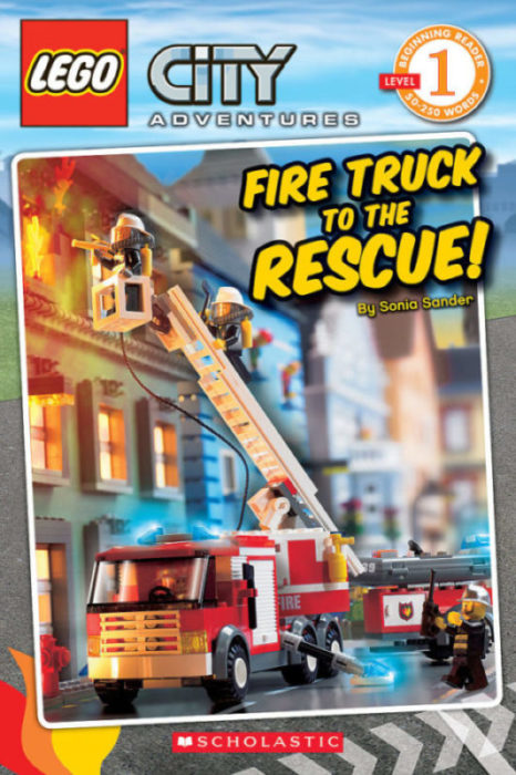 Scholastic Reader!® Level 1-LEGO® City: Fire Truck to the Rescue!