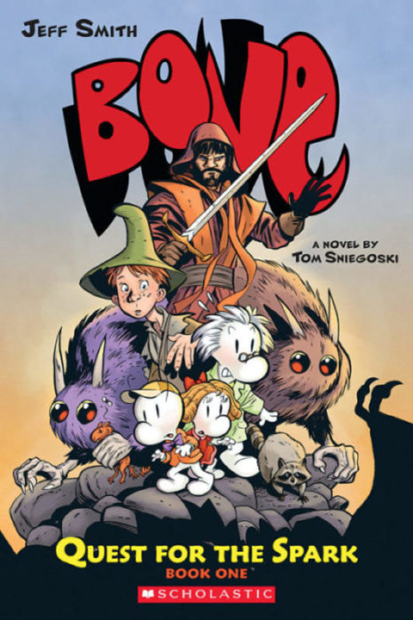 Bone: Quest for the Spark: Quest for the Spark, Book One