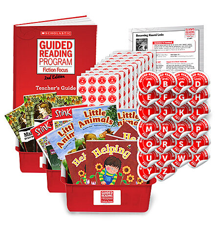Guided Reading Fiction Focus - Second Edition: Complete Set - (Levels, A-Z)