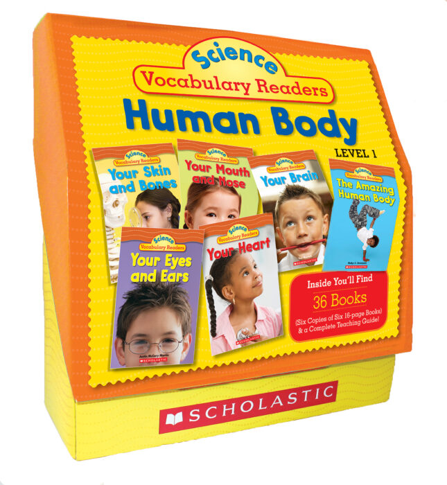 Science Vocabulary Readers: Human Body