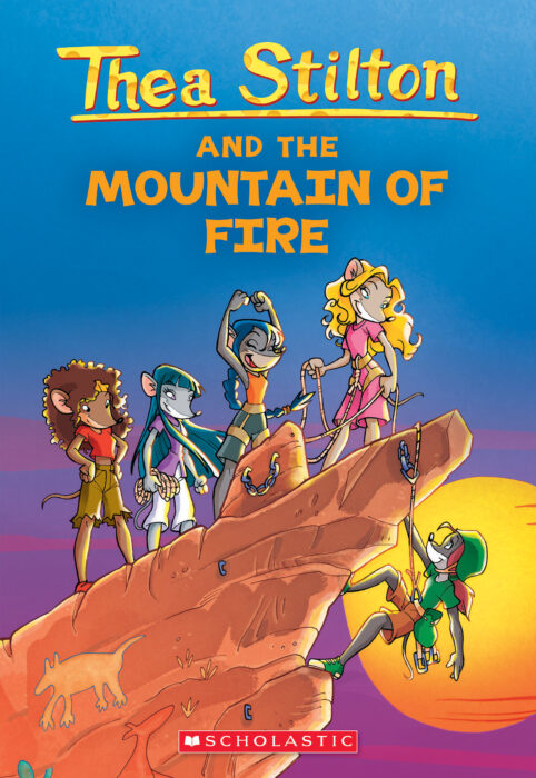 Geronimo Stilton-Thea Stilton: Thea Stilton and the Mountain of Fire