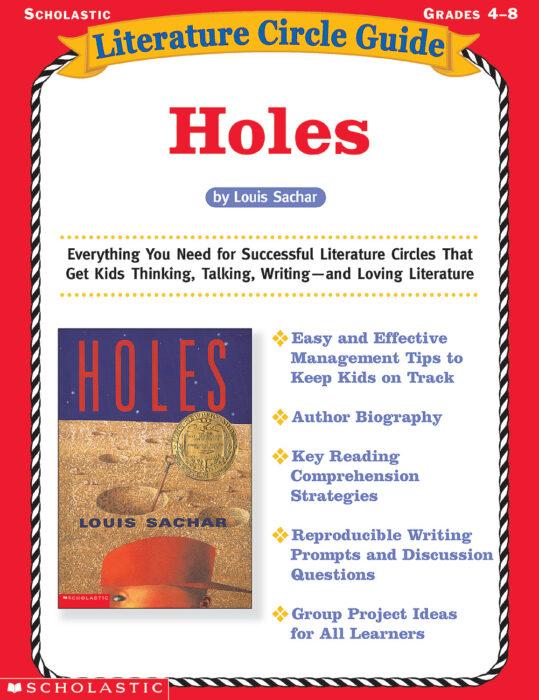 Literature Circle Guide Holes By Tonya Ward Singer