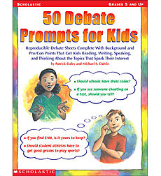 50 Debate Prompts for Kids