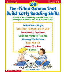 20 Fun-Filled Games That Build Early Reading Skills