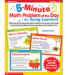 5-Minute Math Problem of the Day For Young Learners