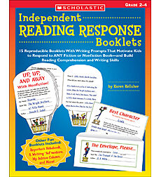 Independent Reading Response Booklets