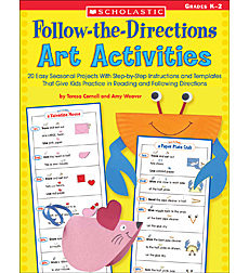 Follow-the-Directions Art Activities