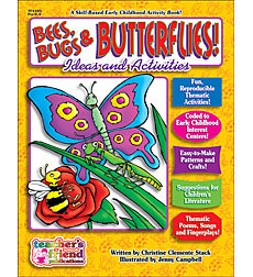 Bees, Bugs and Butterflies! Early Childhood Thematic Books