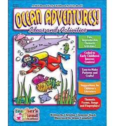 Ocean Adventures! Early Childhood Thematic Books
