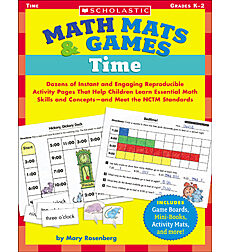 Math Mats & Games: Time