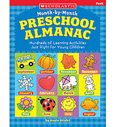 Month-by-Month Preschool Almanac