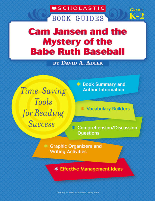 Book Guide: Cam Jansen and the Babe Ruth Base...
