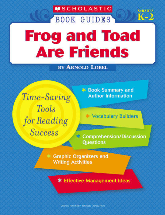 Book Guide: Frog and Toad Are Friends