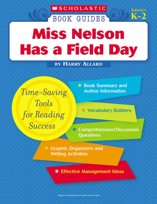 Book Guide: Miss Nelson Has a Field Day