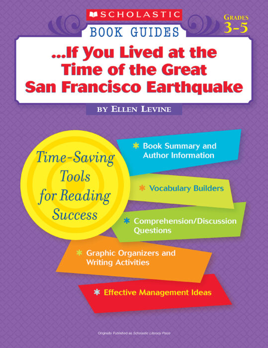 Book Guide: If You Lived...San Francisco Eart...