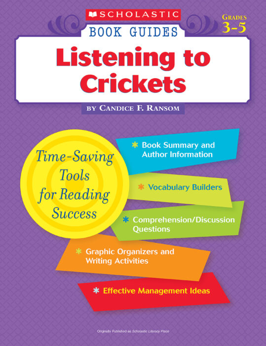 Book Guide: Listening to Crickets