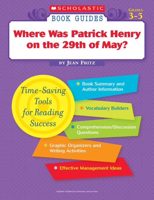 Book Guide: Patrick Henry on the 29th of May