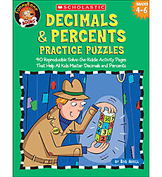 Decimals & Percents Practice Puzzles