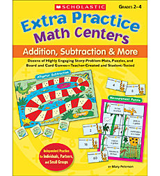 Extra Practice Math Centers: Addition, Subtraction & More