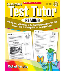 Standardized Test Tutor: Reading: Grade 3