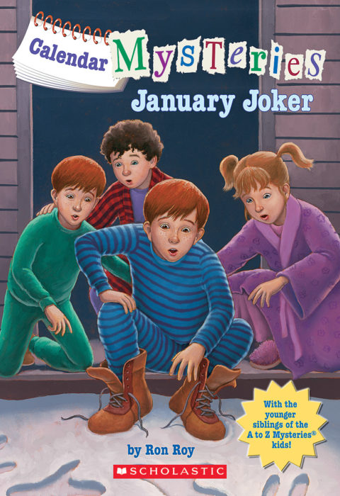 Spoiler-Free Review: Calendar Mysteries January Joker