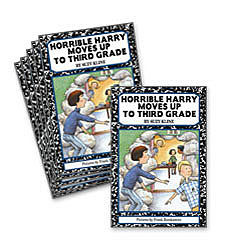 Guided Reading Set: Level L - Horrible Harry Moves Up to Third Grade