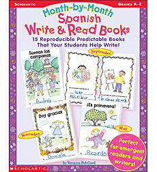 Write & Read Books Month-by-Month Spanish