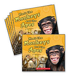 Guided Reading Set: Level J - Meet the Monkeys