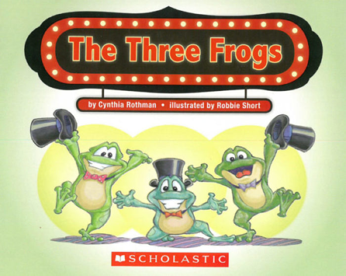 The Three Frogs