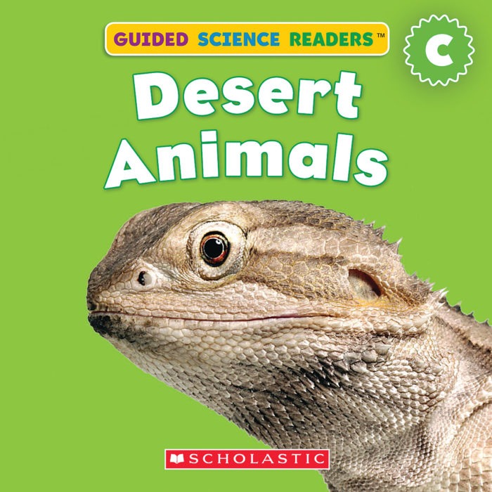 Guided Science Readers: Animals-Level C: Desert Animals
