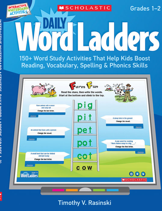 Interactive Whiteboard Activities: Daily Word Ladders ...