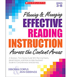 Planning & Managing Effective Reading Instruction Across the Content Areas