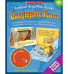 Content Area Mini-Books: Geographic Terms