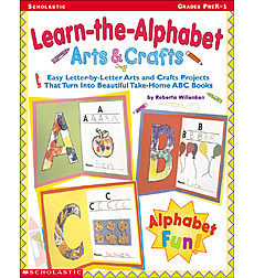 Learn-the-Alphabet Arts & Crafts