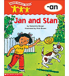 Word Family Tales: Jan and Stan (-an)