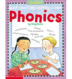 Quick-and-Easy Learning Games: Phonics