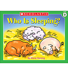 Little Leveled Readers: Who Is Sleeping? (Level D)