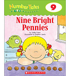 Number Tales: Nine Bright Pennies
