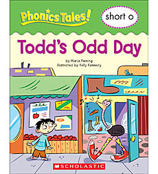 Phonics Tales: Todd s Odd Day (Short O) by
