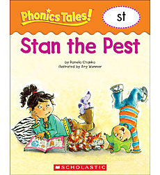Phonics Tales: Stan the Pest (ST)
