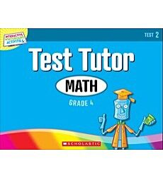Interactive Whiteboard Activities: Math Test Tutor (Grade 4) (Test 2)