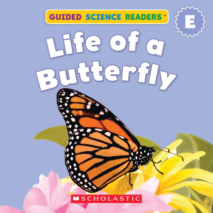 Guided Science Readers: Seasons-Level E: Life of a Butterfly